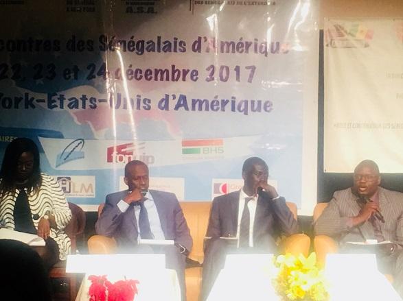 Forum des s n galais d am rique aboubacar sedikh beye plaide pour une appropriation par la - Recrutement port autonome de dakar ...