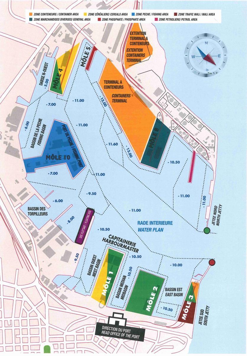 Infrastructures port autonome de dakar - Port autonome du centre et de l ouest ...